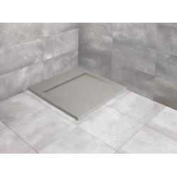 Brodzik kwadratowy Teos C 100x100 Radaway cementowy