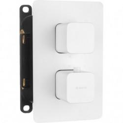 Deante Box Element zewnętrzny do BOXa termostatycznego - zaokrąglony