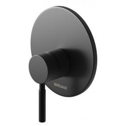 Bateria prysznicowa podtynkowa Roxin Black KOHLMAN QW220RB czarna
