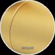 Grzejnik łazienkowy Bohemia ARC 120x50 matowe złoto SUNERZHA