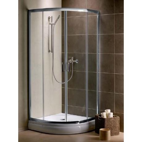 Kabina prysznicowa Radaway Premium Plus A 80x80x190 szkło przejrzyste