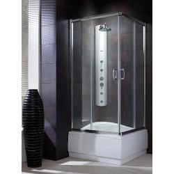Kabina kwadratowa Radaway Premium Plus C 90x90x170 szkło brązowe