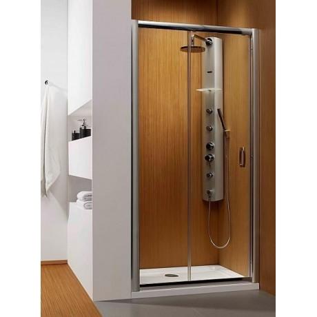 Drzwi wnękowe Radaway Premium Plus DWJ 100x190 szkło brązowe