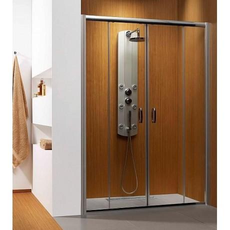Drzwi wnękowe Radaway Premium Plus DWD 140x190 szkło brązowe