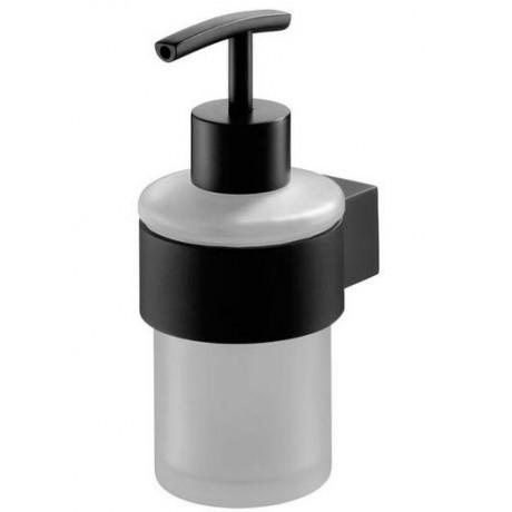 Rewelacyjny Dozownik na mydło BISK Futura Black 02953 czarny YO82