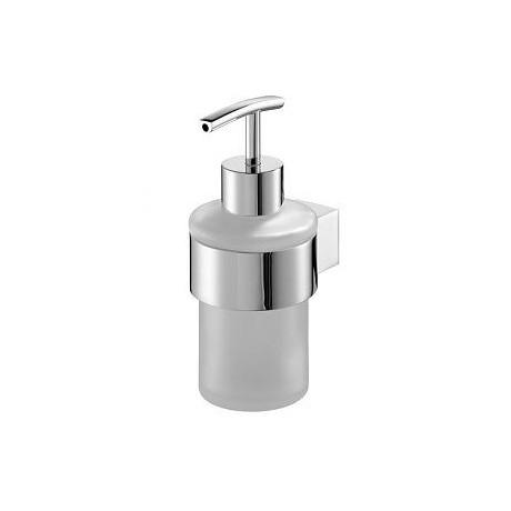 Dozownik mydła BISK Futura silver chrom 02981