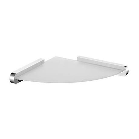 Półka narożna BISK Futura silver chrom 02984