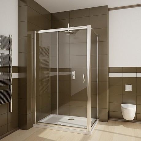 Kabina kwadratowa Radaway Premium Plus DWJ+S 100x100x190 szkło brązowe
