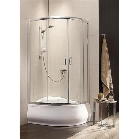 Kabina asymetryczna Radaway Premium Plus E 120x90x170 szkło satinato