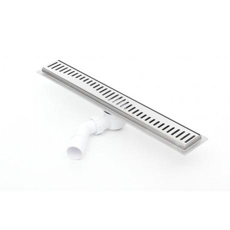 Odpływ liniowy z flanszą Kesmet 60 cm z rusztem Caro