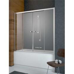 Zabudowa nawannowa Radaway Vesta DWD 150x150 szkło fabric