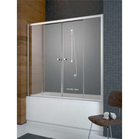 Zabudowa nawannowa Radaway Vesta DWD 160x150 szkło fabric