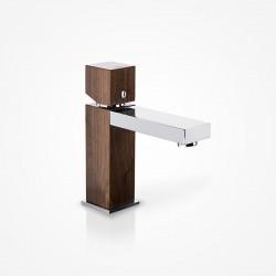 Bateria umywalkowa stojąca niska drewniana dąb europejski Green Home Design