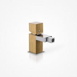 Bateria bidetowa stojąca drewniana dąb europejski Green Home Design