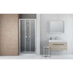 Drzwi prysznicowe Radaway Evo DW 120x200 szkło przejrzyste
