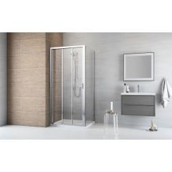 Kabina prysznicowa Radaway Evo DW+S 90x80x200 szkło przejrzyste