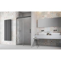 Drzwi Radaway Idea Black DWJ 100x200,5 lewe, szkło przejrzyste