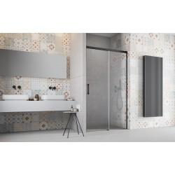 Drzwi Radaway Idea Black DWJ 130x200,5 prawe, szkło przejrzyste