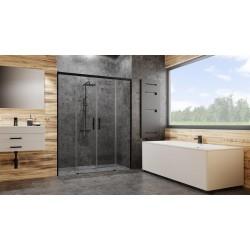 Drzwi Radaway Idea Black DWD 160x200,5 szkło przejrzyste