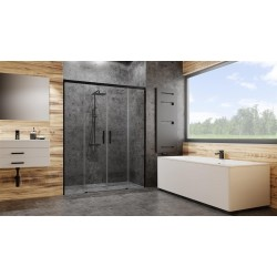 Drzwi Radaway Idea Black DWD 200x200,5 szkło przejrzyste