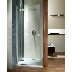 Drzwi wnękowe prysznicowe Radaway Almatea DWJ 80x195 lewe, szkło przejrzyste