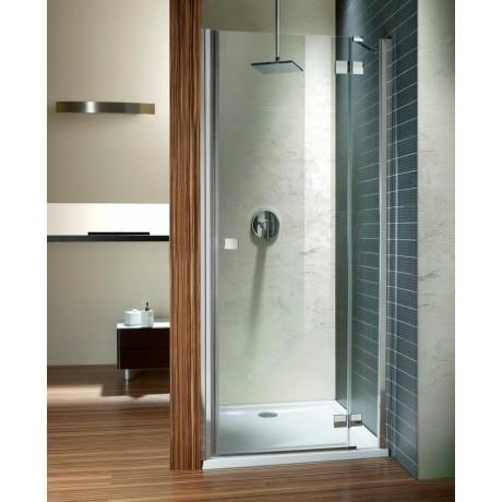 Drzwi wnękowe prysznicowe Radaway Almatea DWJ 80x195 prawa, szkło przejrzyste
