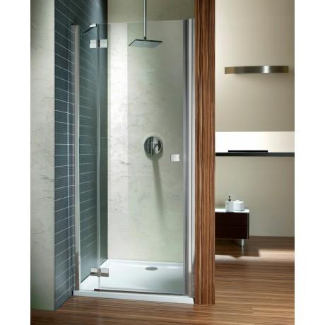Drzwi wnękowe prysznicowe Radaway Almatea DWJ 100x195 lewe, szkło przejrzyste