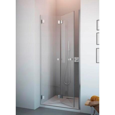 Drzwi wnękowe łamane do środka Radaway Carena DWB 90x195 lewe, szkło przejrzyste