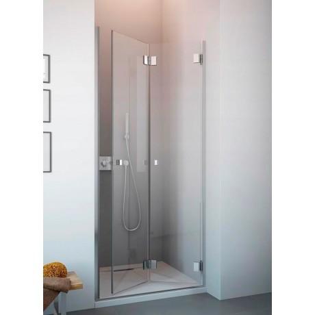 Drzwi wnękowe łamane do środka Radaway Carena DWB 90x195 prawe, szkło przejrzyste