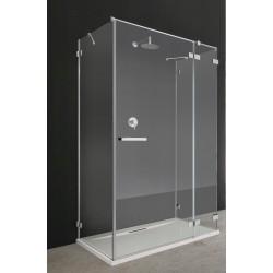 Kabina prostokątna Radaway Euphoria KDJ+S 100x80x200 prawa, szkło przejrzyste