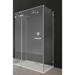 Kabina prostokątna Radaway Euphoria KDJ+S 100x90x200 lewa, szkło przejrzyste