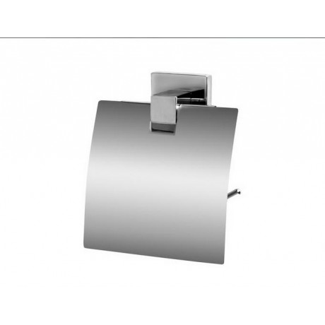 Uchwyt WC z klapką BISK Arktic 01473 / chrom