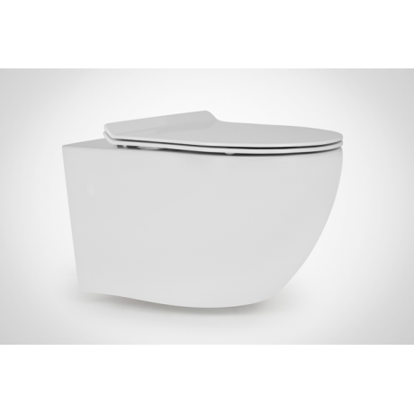 Miska WC wisząca Massi DECOS RIMLESS 36x55 cm