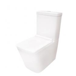 Kompakt WC ceramiczny Massi TRINGO 37x64 cm