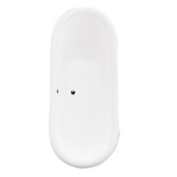 Wanna wolnostojąca Besco AMELIA 190x77 cm łapy białe
