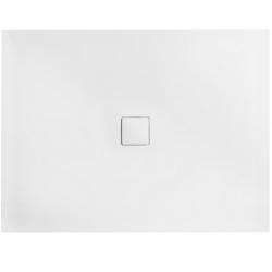 Brodzik prostokątny Besco NOX ULTRASLIM WHITE 100x80x3,5