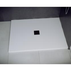 Brodzik prostokątny biały Besco NOX ULTRASLIM 130x90x3,5