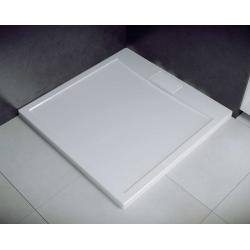 Brodzik kwadratowy biały Besco AXIM ULTRASLIM 80x80x4,5