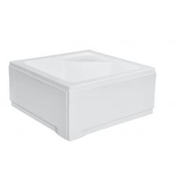 Brodzik kwadratowy biały IGOR-PMD 80x80x24