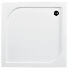 Brodzik kwadratowy biały Besco OSKAR-PMD 80x80x4