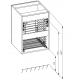 Zestaw mebli łazienkowych Loft 120 cm Elita