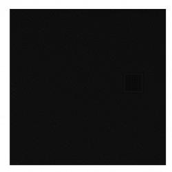 Brodzik kwadratowy New Trendy Mori 90x90x3 szary