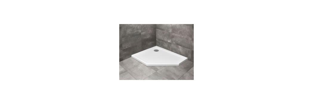 Brodziki pięciokątne - brodziki prysznicowe | Era Łazienki