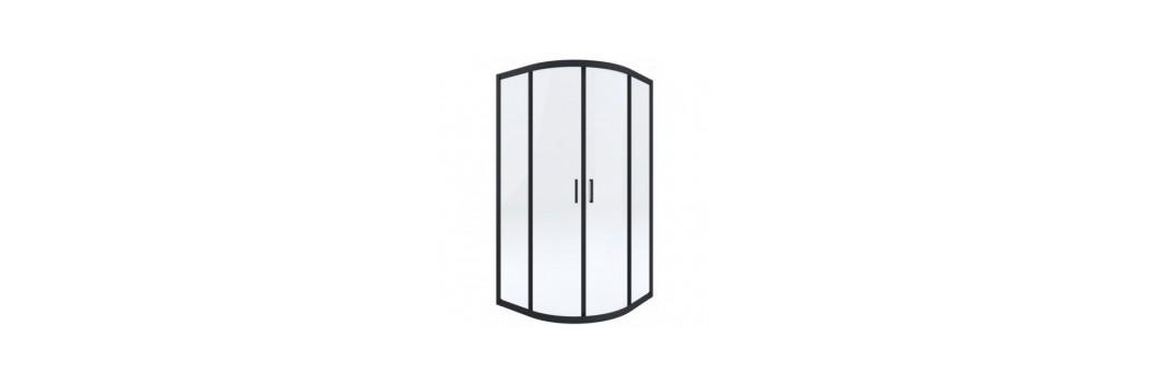 Kabiny prysznicowe półokrągłe   Era Łazienki