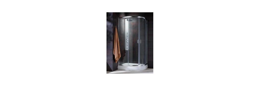 Kabiny prysznicowe asymetryczne   Era Łazienki