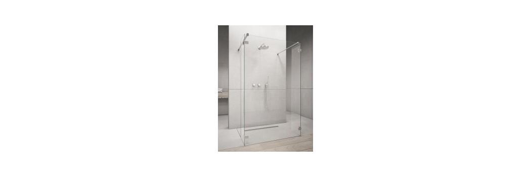 Kabiny prysznicowe walk-in   Era Łazienki