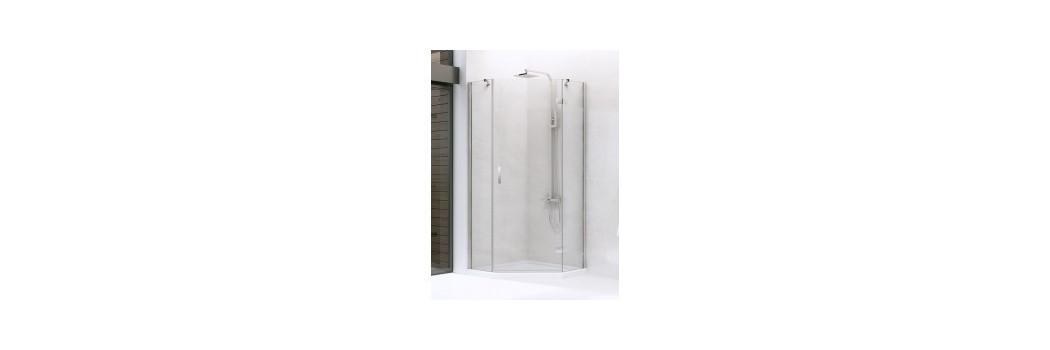 Kabiny prysznicowe pięciokątne | Era Łazienki